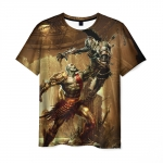 Merch - T-Shirt God Of War Firearm Hero