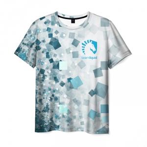 Merch T-Shirt Team Liquid E Sport Pattern
