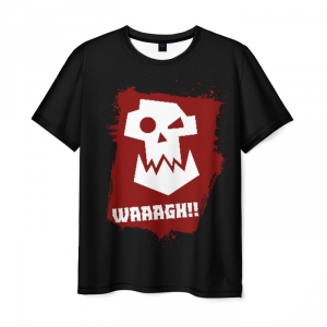 Merch T-Shirt Waaagh!! Warhammer Print Black