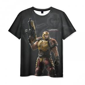 Merch T-Shirt Quake Firearm Hero Print