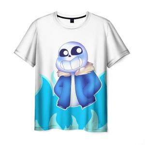 Merchandise T-Shirt Sans Undertale Cut Hero Print