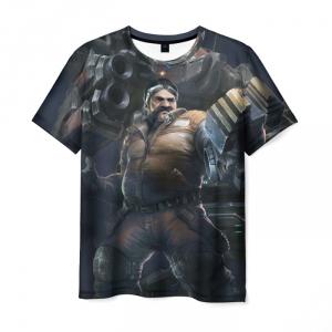 Merch - T-Shirt Starcraft Gray Scene Print