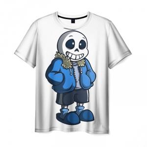 Merchandise T-Shirt Undertale White Art Apparel