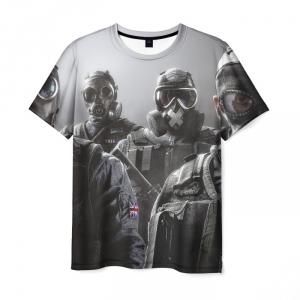Merch T-Shirt Tom Clancy Rainbow Six Design