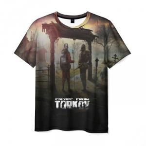 Merch T-Shirt Escape From Tarkov Print Merch