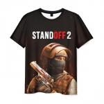 Merchandise T-Shirt Standoff Black Print Merch