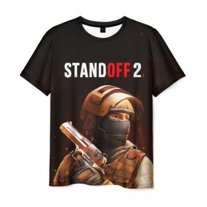 Merch T-Shirt Standoff Black Print Merch