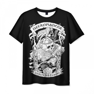 Collectibles T-Shirt Dungeons &Amp; Dragons Necromancer Unholy Taboo
