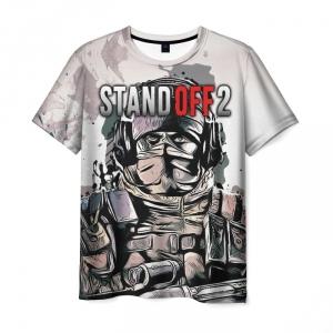 Merch T-Shirt Standoff Fan Art Print Hero