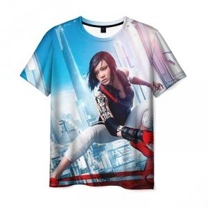 Collectibles - T-Shirt Mirror'S Edge Print Faith Runners