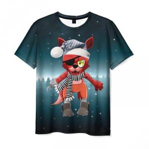 Merch T-Shirt Five Nights At Freddy'S New Year Print