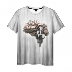 Merch T-Shirt The Evil Within White Print