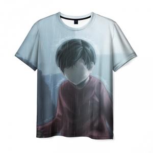 Merch T-Shirt Inside Game Face Print