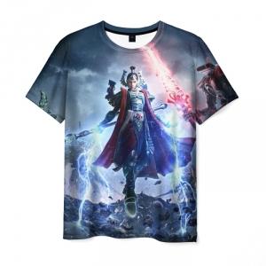 Merch T-Shirt Warhammer Scene Print Design