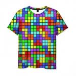 Merchandise T-Shirt Tetris Dandy Pattern Design