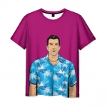 Collectibles T-Shirt Tommi Gta Pink Print
