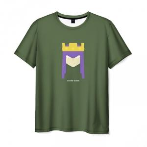 Merch T-Shirt Clash Of Clans Green Print Merch