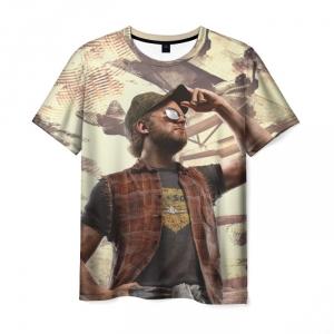 Merchandise T-Shirt Redneck Far Cry Hero Print