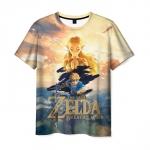 Merch T-Shirt The Legend Of Zelda Clothes Print