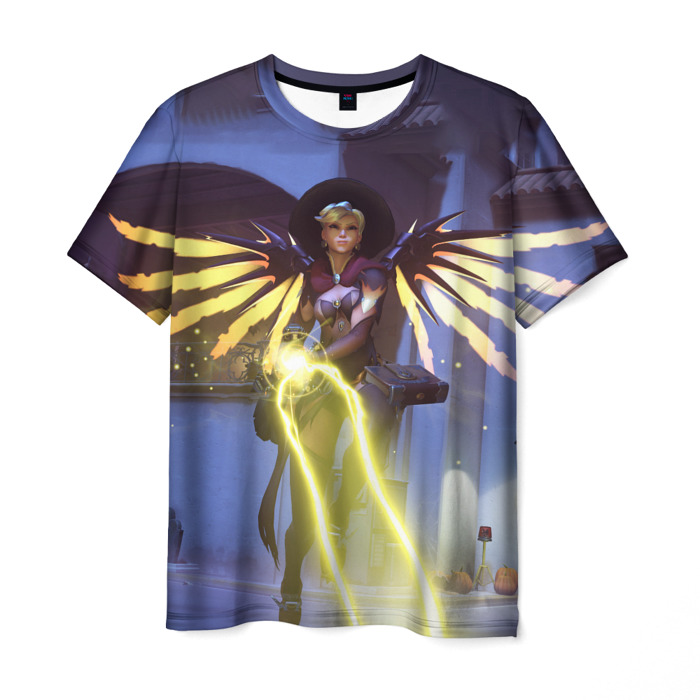 Collectibles T-Shirt Witch Overwatch Hero Print
