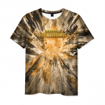 Collectibles T-Shirt Pubg Abstract Print Design