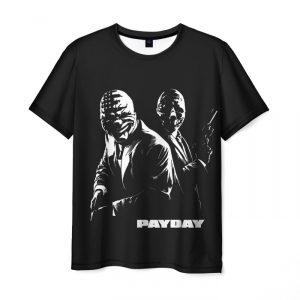 Collectibles - T-Shirt Payday Black Print Design