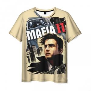 Merchandise T-Shirt Mafia Cream Face Print