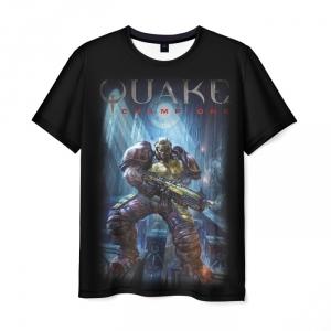 Merch T-Shirt Quake Champions Episode Design