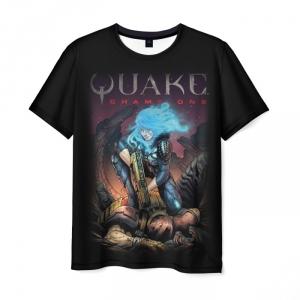 Merch T-Shirt Quake Champions Scene Drawing