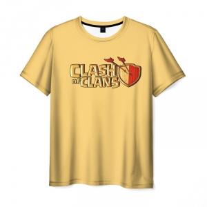 Merch T-Shirt Clash Of Clans Royale Yellow