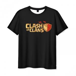 Merch T-Shirt Clash Of Clans Royale Black