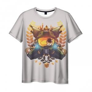 Merch T-Shirt Halo White Print Apparel