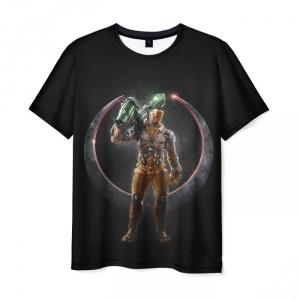 Merch T-Shirt Quake Champions Black Print
