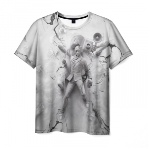 Merch T-Shirt The Evil Within Eyes White