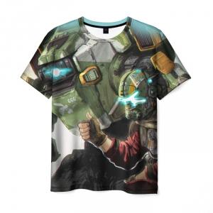 Collectibles T-Shirt Titanfall Scene Print Merch
