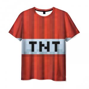 Merchandise T-Shirt Minecraft Tnt Text Merch
