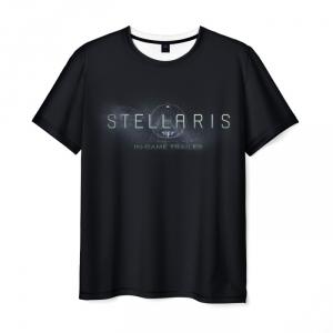 Collectibles T-Shirt Stellaris Black Print Apparel