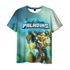 Merch T-Shirt Paladins Design Print Art
