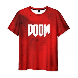 Collectibles T-Shirt Doom Mars Game Clothes