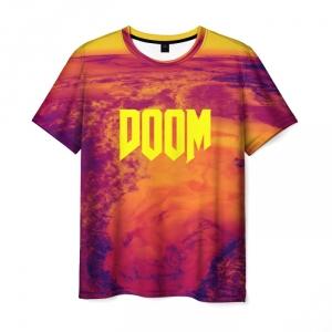 Collectibles T-Shirt Doom Design Title Print