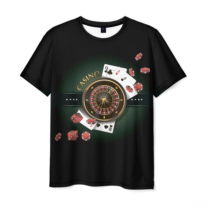 Collectibles T-Shirt Stars Poker Black Print