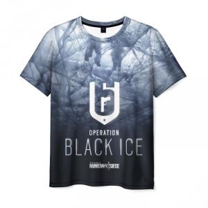 Merch T-Shirt Tom Clancy'S Black Ice
