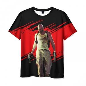 Merch T-Shirt Max Payne Character Print