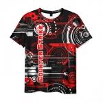 Collectibles T-Shirt Counter Strike Text Logo