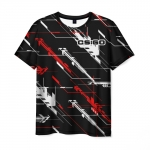 Collectibles T-Shirt Counter Strike Black Outline Print
