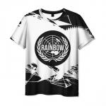 Merchandise T-Shirt Rainbow Six Siege Emblem Title