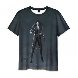 Merch T-Shirt Yennifer The Witcher Black Hero