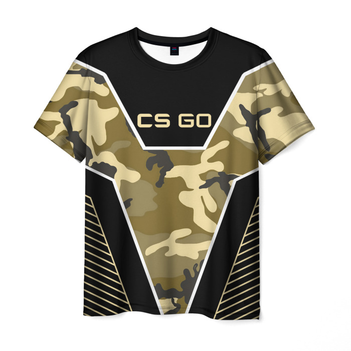 Merchandise T-Shirt Graphic Camouflage Counter Strike