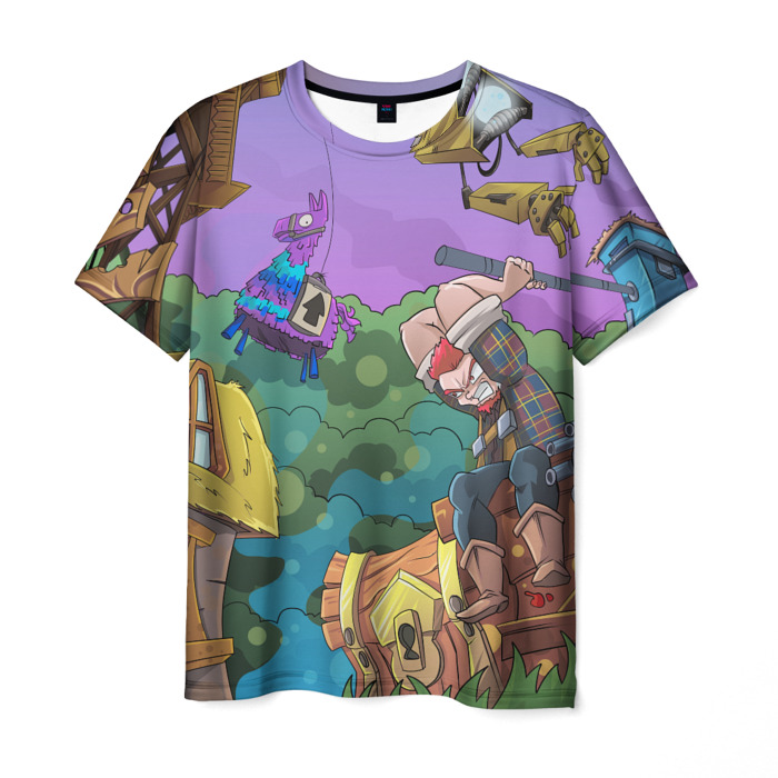 Collectibles T-Shirt Picture Print Fortnite Design