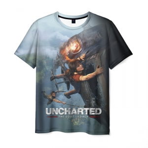 Collectibles T-Shirt Uncharted Title Print Design